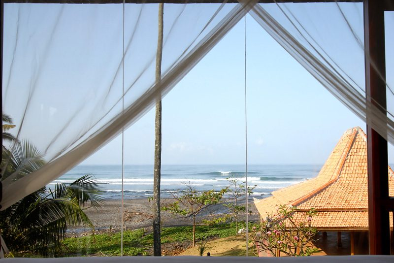View of the surf from master bedroom.
